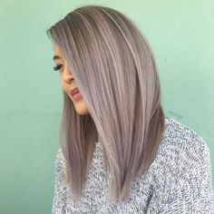 "3,009 Likes, 47 Comments - Orlando LA Vivid Hairstylist (@nealmhair) on Instagram: ""Winter Lavender - did a @keratincomplex treatment on my boo @definesally and this is a month fade…"""