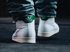 Adidas Stan Smith Mid OG White Green - oldmanalan (1)