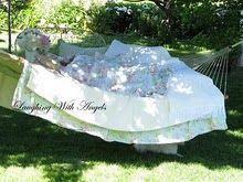 I am so making my hammock like this!