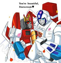 Starscream and Skyfire