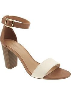 Women's Block-Heel Sandals | Old Navy