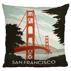 Saw this and thought of @Claire Kerry! Anderson Design Group San Francisco Pillow