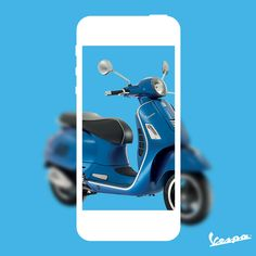 The love for your Vespa is proportionate to the number of photos you take of it. #Vespa #VespaLifestyle