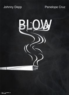 minimal movie posters on behance images Iconic Movie Posters, Minimal Movie Posters, Iconic Movies, Film Posters, Blow Movie, Film Movie, Excellent Movies, Great Movies, Penelope Cruz Blow