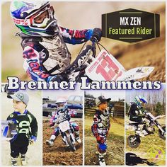 Meet MX Zen's Featured Rider Brenner Lammens #13 from Canada! I'm 6 years old in 1st Grade. This is my 2nd Year Racing. I ride a Cobra 50 Jr.  We live on a farm near a great National trackGopher Dunes. We always have had dirt bikes & quads on the farm. I started riding when I was 2 my little PW with training wheels & then one day my parents took me to a race. Once I saw that I asked to race pretty much every day until they finally took me to one. I won my first Overall the first weekend I…