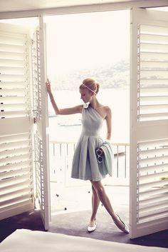 Love the dress.