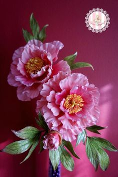 Pink Peonies - Cake by Sweet Surprizes