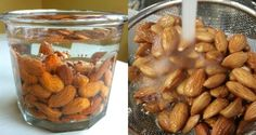 Wondering why our elders tell us to eat soaked almonds? Because soaked almonds have health benefits that will boggle your mind! Packed with essential vitamins and minerals like vitamin E, zinc, calcium, magnesium and Soaked Almonds, Raw Almonds, Sante Plus, Healthy Tips, Healthy Recipes, Eating Healthy, Healthy Food, Troubles Digestifs, Health Products