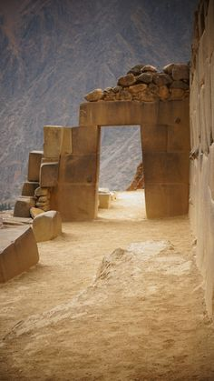 Ollantaytambo, Inca archaeological site, southern Peru.  Photo: Maria Andrea Patiño Garces, via 500px