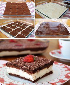 Çikolatalı Muhallebili Pasta (videolu) Tarifi nasıl yapılır? 5.487 kişinin defterindeki bu tarifin resimli anlatımı ve deneyenlerin fotoğrafları burada. Yazar: SEDA'NIN MUTFAĞI (BAYAN MARİFET)