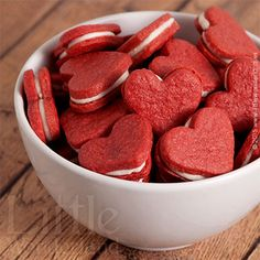 Galletas Red Velvet | Red Velvet cookies