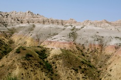 #BadlandsNationalPark just sort-of pops up in the middle of the #SouthDakota plains.  #RoadTrip