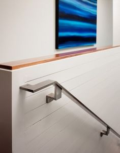 Metal fabrication for stair railing