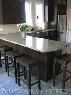 Superb White Concrete Countertop Concrete Countertops All Innovative Concrete  Austin, TX | Home Decorating In And Out | Pinterest | All., Tile Back  Splashes And ...