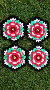Ravelry: MMdeR's Frida's Flowers Blanket - Frida's Flowers Blanket CAL 2016 ... Variation ...