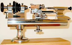 I would like to have real watchmaker's lathe in some day. My normal metal lathe is way too big for jewelry making.
