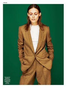 visual optimism; fashion editorials, shows, campaigns & more!: simple, d'esprit: emma oak by stefan zschernitz for stylist france #58 28th august 2014