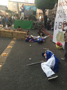 Estudiantes #P04Cuautla #Cobaem_Morelos también escenificaron #RompimientodelSitiodeCuautla #juventudcultayproductiva