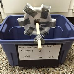 "Fab water wheel from Inquiring Minds: Mrs. Myers' Kindergarten("",)"