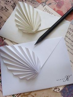 Popular DIY Crafts Blog: How to Make Paper Envelope Flower