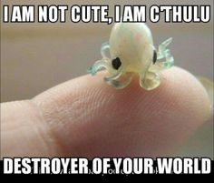 Adorable baby Cthulhu