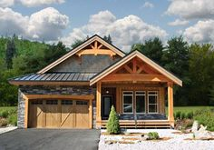 Home Award Winners Post & Beam Modern Homes Traditional Homes Retreats & Cottages Country Homes Prow & Cedar Homes Timber Frame & Log Estate Homes Small Cabins Residential Craftsman Ranchers Basement Entry Garages & Outbuilding House Plans - The Osprey 2 … Read More