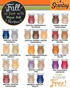 ~Fall in love with these scents recipes~ https://casies.scentsy.us/Buy/Category/3004 … #fallingforfall