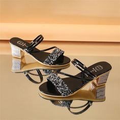 Buy, Square High Heel Open Toe Elegant Women Summer Shoes are available at 4colordress.com! Now, $24.99 & Free Shipping. #Square #High #Heel #Open #Toe #Summer #Women #Shoes Womens Summer Shoes, Thick Heels, Elegant Woman, Leggings Fashion, Pu Leather, Open Toe, Women Sandals, Stylish, Design
