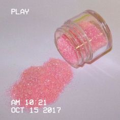 """Once when I was about I ate a hand full of pink glitter. I thought I would burp sparkles. Soft Grunge, Anime Beautiful, Glitter Tumblr, Arte Alien, All I Ever Wanted, Kawaii, Everything Pink, Pink Glitter, Glitter Fabric"