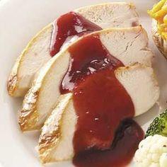 Cranberry-Glazed Turkey Breast by nell