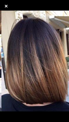 Haircuts For Medium Hair, Medium Hair Styles, Short Hair Styles, Balayage Hair, Ombre Hair, Bob Hairstyles, Straight Hairstyles, Hair Jazz, Cabello Hair