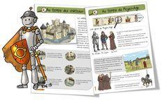 Le Moyen Age Voici les fiches documentaires sur le Moyen Age : le château-fort et les 3 ordres. Je continue mes fiches en lien avec « Le loup qui voyageait dans le temps » : …