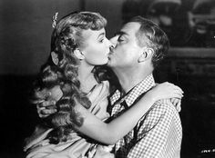 """Ann Blyth and William Powell in """"Mr. Peabody and the Mermaid"""", 1948"""
