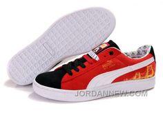 http://www.jordannew.com/mens-puma-basket-brights-yoyo-red-black-white-discount.html MENS PUMA BASKET BRIGHTS YOYO RED BLACK WHITE DISCOUNT Only $74.00 , Free Shipping!