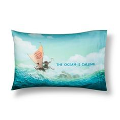 Moana Blue Pillow Cases (Standard)