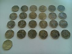 #Various #london 2012 olympic 50p #coins,  View more on the LINK: 	http://www.zeppy.io/product/gb/2/231903813468/