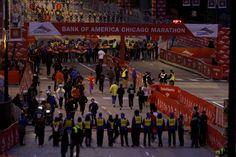 Un vistazo al maratón de Chicago, que atrajo a miles de participantes. MiCHAEL TERCHA/CHICAGO TRIBUNE