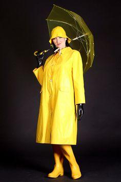 yellow rain coats | Yellow Raincoat