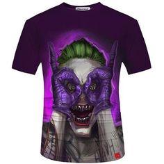 c37fc781fb7 Skull Design Hipster 3D Fashion T-Shirt