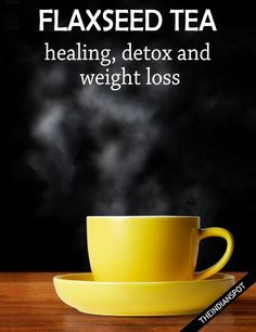The Health Benefits of Flaxseed Tea | A refreshing herbal tea great for natural healing, detox and weight loss. Find out what makes this tea so good for you! Detox Drinks, Healthy Drinks, Healthy Tips, Healthy Food, Ayurveda, Herbal Remedies, Health Remedies, Bebidas Detox, Healthy Smoothies