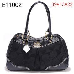 US1392 Coach Handbags Outlet E11002 - Black 1392 (a favourite repin of VIP Fashion Australia Find preloved handbags at www.vipfashionaustralia.com )