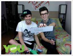 Matthew Lush and Nick Laws so cute!