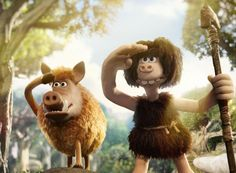 Early Man trailer: Eddie Redmayne and Tom Hiddleston lend their voices to Aardman's latest Man Movies, Good Movies, Peter Lord, Hi Five, Shaun The Sheep, Film D'animation, Eddie Redmayne, Movie Tickets, Creature Comforts