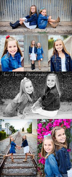 Children photography Makes me think of my girls <3