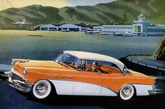 1956 Buick Roadmaster Four Door Riviera
