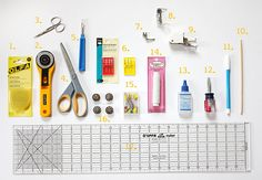 Your MUST HAVE tools for sewing. A great blog!