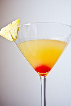 Pineapple Upside-down Cake Martini by DaydreamerDesserts, via Flickr
