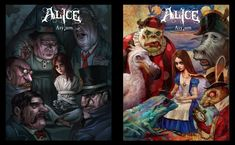 Dark Alice In Wonderland, Sketches, Disney Cartoons, Illustration, Drawings, Artist, Alice Madness Returns, Video Game Fan Art, Horror