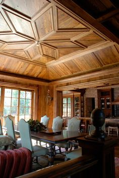 LAKE TOXAWAY HOME - transitional - Spaces - Other Metro - Square Peg Inc.