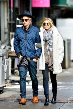 Gigi Hadid pressed pause on New York Fashion Week to spend some quality time with her boyfriend, singer Cody Simpson. Her daytime date look felt very familiar: a cozy coat, jeans, and a plaid scarf — very much like our own off-duty uniforms.Gigi is wearing a Gerard Darel coat and Krewe Du Optic sunglasses. For a similar style, try: